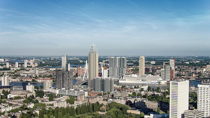 Sky is not the limit in Rotterdam, stad groeit naar hoogte van 250 meter