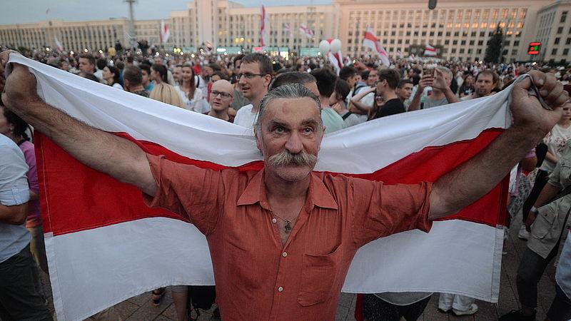 Protesten Wit-Rusland