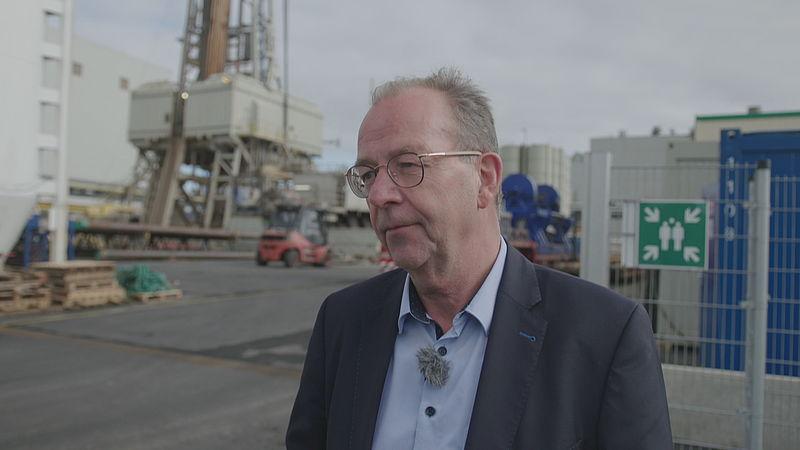 Durk van Tuinen, directeur Frisia Zout