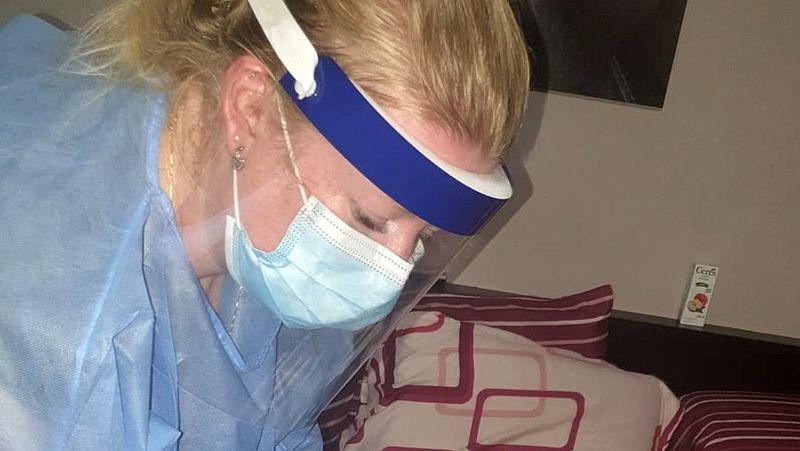 Felicia Burger werkt als verpleegkundige in het Curaçao Medical Center