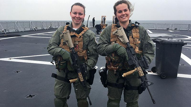 Gezocht: meisjes die het leger in willen