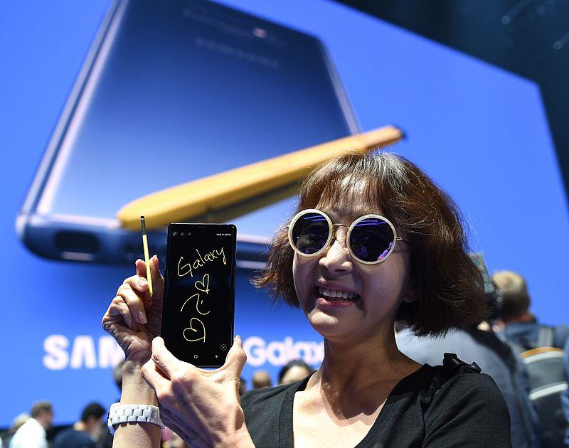 Samsung aangeklaagd om rokende Galaxy Note 9