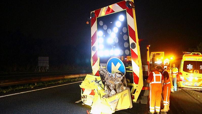 Wekelijks ongelukken bij wegwerkzaamheden: 'Snelweg sluiten is enige oplossing'