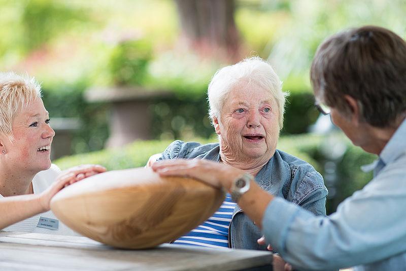 Aanraking vertaald naar geluid helpt mensen met dementie