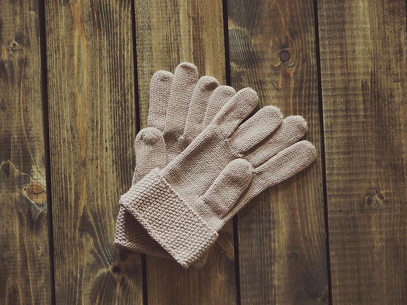 Verloren handschoenen worden herenigd met eigenaar