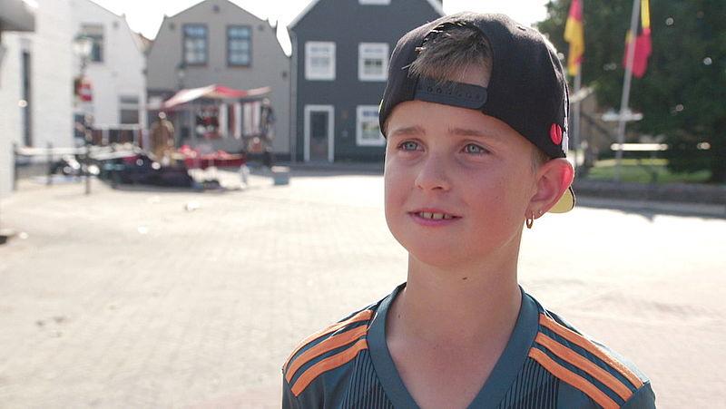 De 10-jarige Finn heeft er vertrouwen in dat hij over een aantal jaar een huisje gaat vinden in Cadzand.