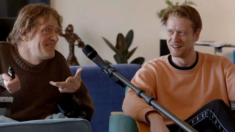 Marcel en Maarten kenden elkaar niet, maar zitten nu al 3 weken samen in quarantaine