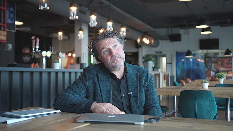 Filmproducent Jeroen Veldkamp besloot te stoppen om een faillissement te voorkomen
