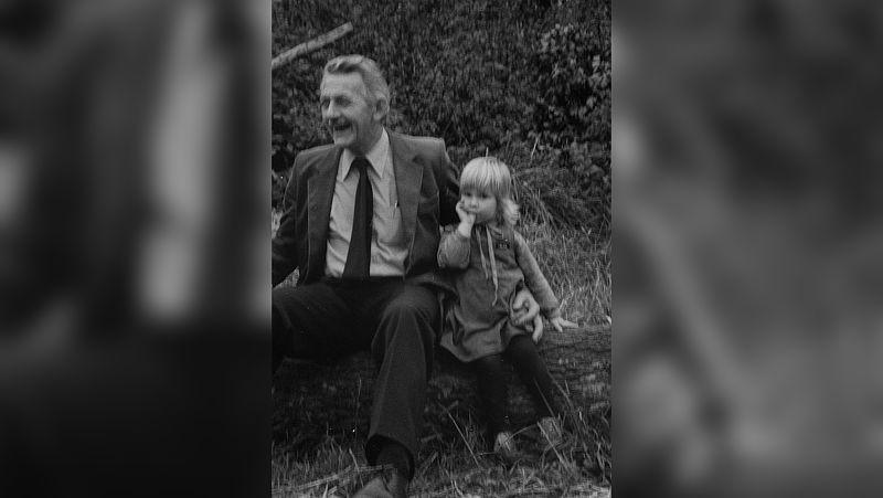 Hannelore en haar opa