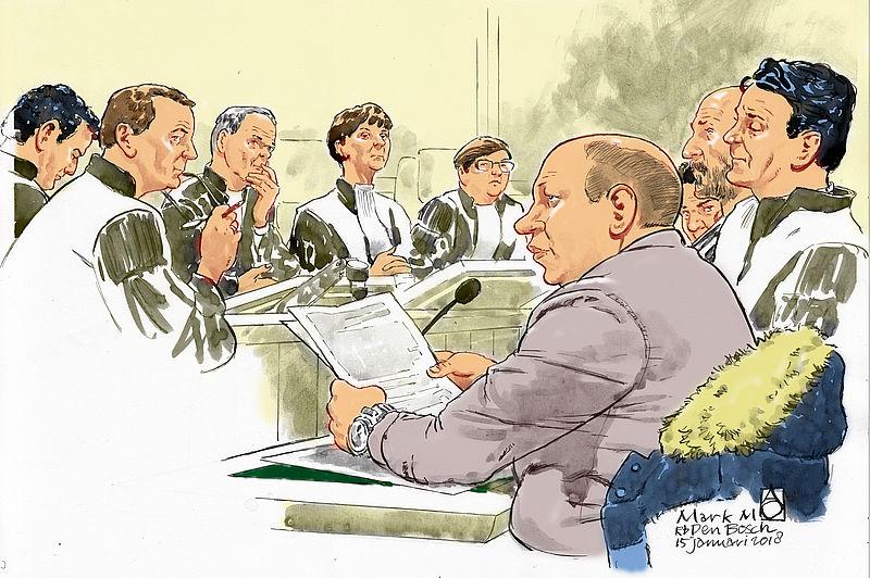 OM eist vijf jaar cel tegen 'politiemol' Mark M.