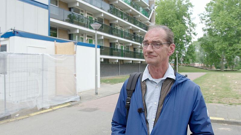 Hulpverlener Hans van Heijningen