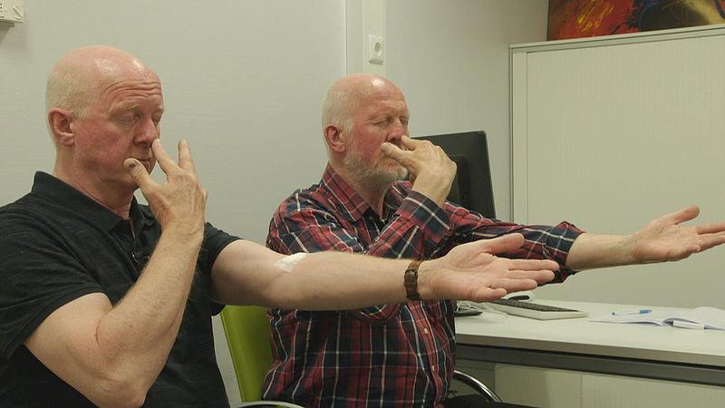 Fred en Jacques Kueter Alzheimer Tweelingstrial