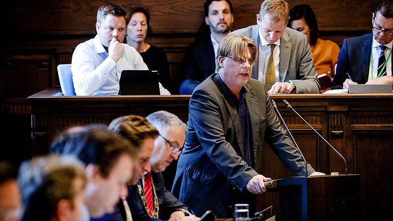 Ronald Buijt bij Leefbaar Rotterdam in de gemeenteraad