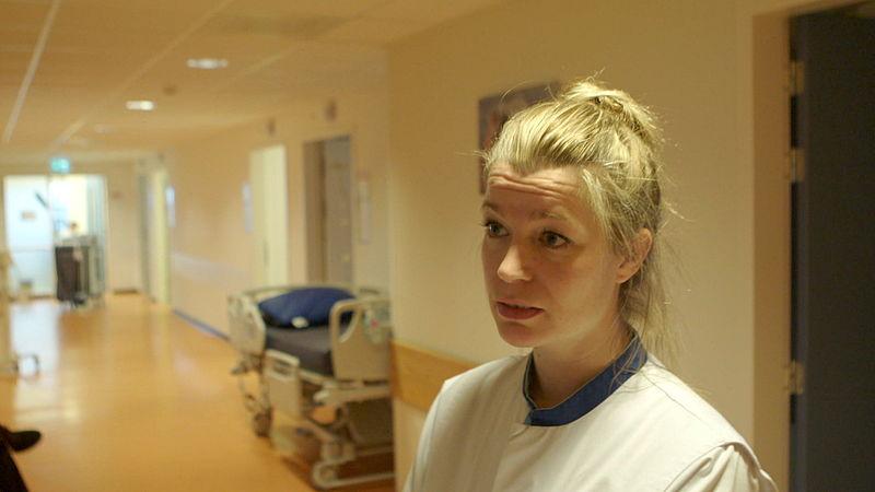 Verpleegkundige Marleen Eikelenboom