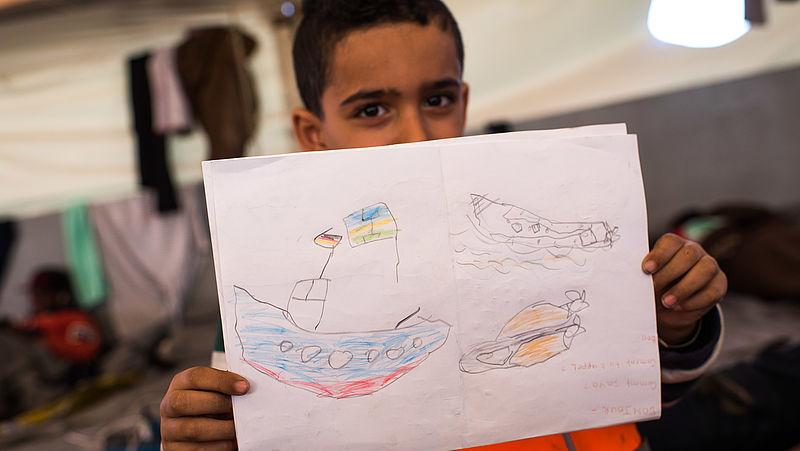 Situatie vluchtelingenschip Sea Watch 3 wordt steeds nijpender
