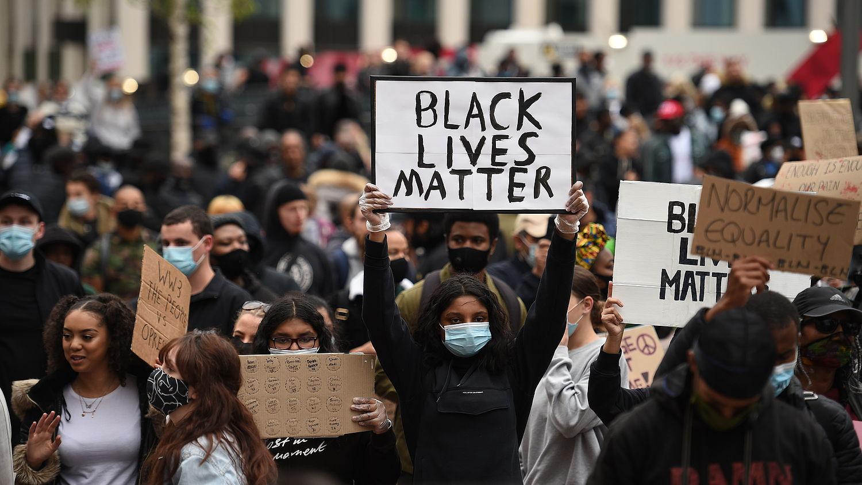Black Lives Matter-demonstraties - EenVandaag