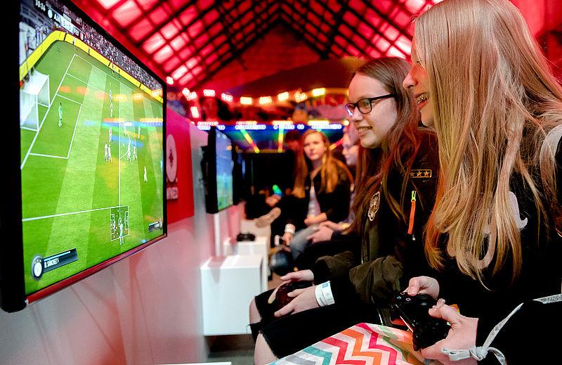 'In Nederland gamen meer vrouwen dan mannen'