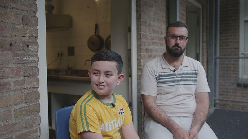 Hoessein en vader Ahmad