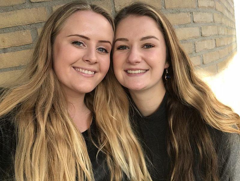 Scholieren Isabelle en Kris: 'Ook zonder make-up ben je mooi'
