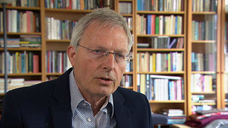 Peter van der Wel (69), futuroloog en econoom