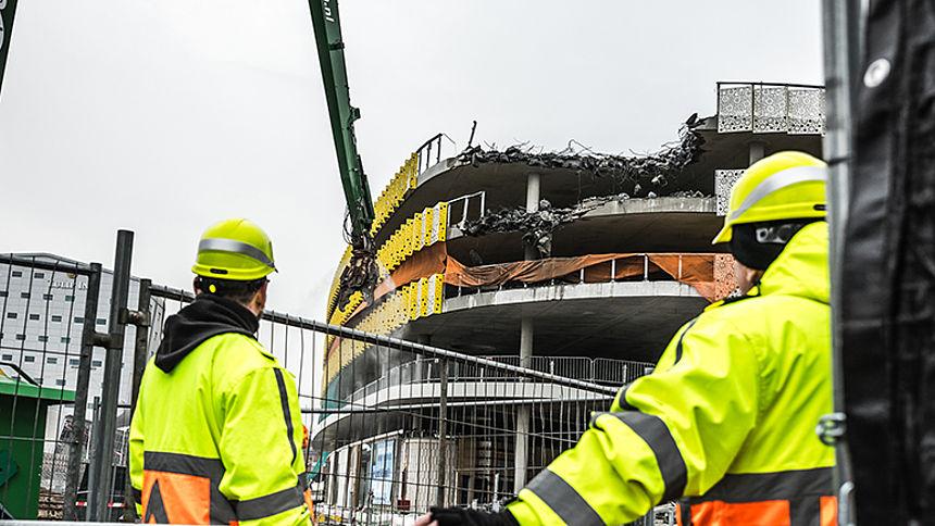 Gevaarlijke situaties door onvoldoende toezicht op de bouw