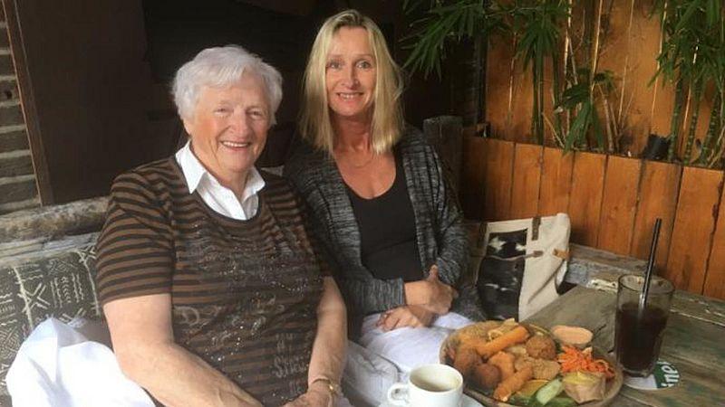 Mariska van Sprundel met haar moeder