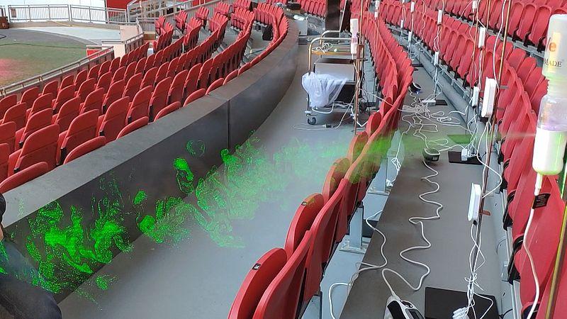 Dankzij speciale filters weer massaal naar concert of voetbalwedstrijd? Zo wordt het in de ArenA onderzocht