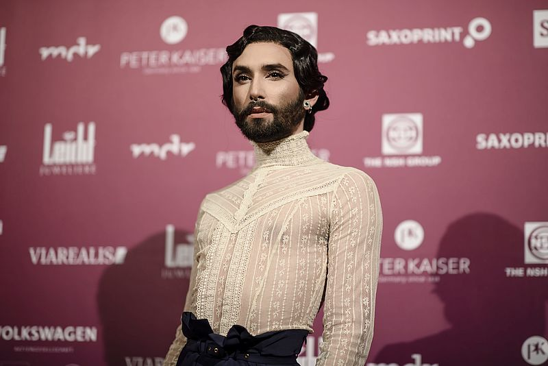 Songfestivalwinnaar Conchita Wurst na chantage 'Ik heb hiv'
