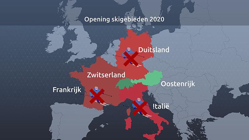 Opening skigebieden in 2020