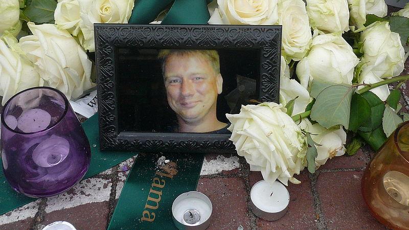 Fred werd doodgereden op een zebrapad in Den Haag