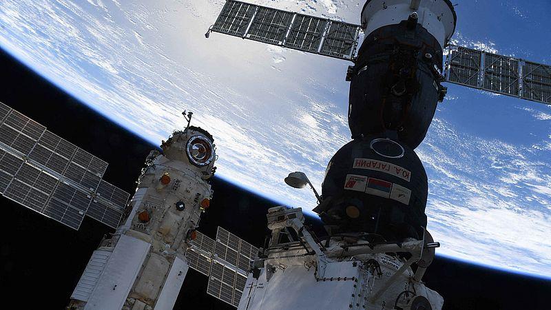 Een Russisch ruimteschip