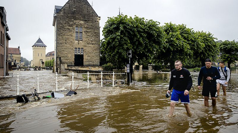 Wateroverlast Limburg