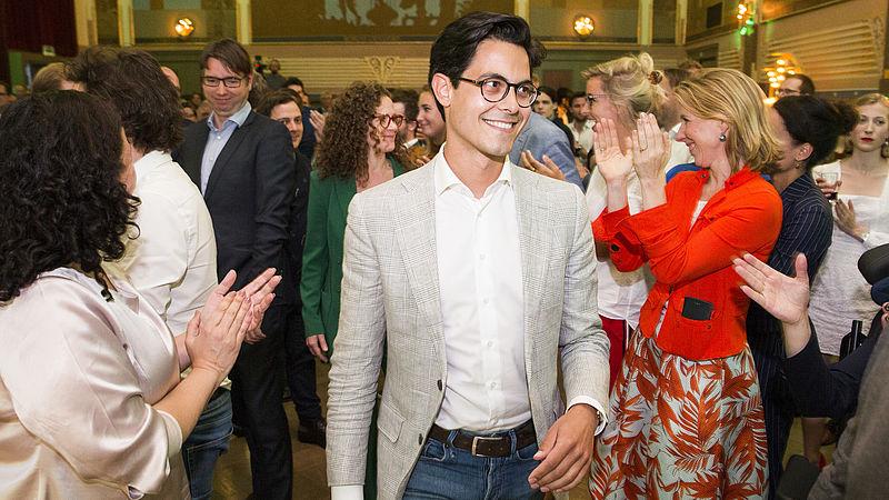 Rob Jetten 1 jaar fractievoorzitter D66, maar of hij ook partijleider wordt is onzeker