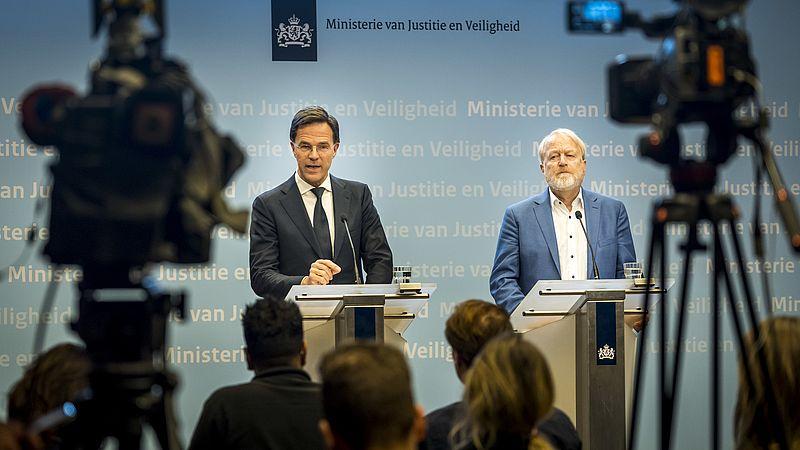 Mark Rutte en Jaap van Dissel