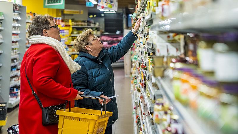 Onze supermarkten zijn goedkoper dan in onze buurlanden, maar Europees gezien halen we hooguit de middenmoot