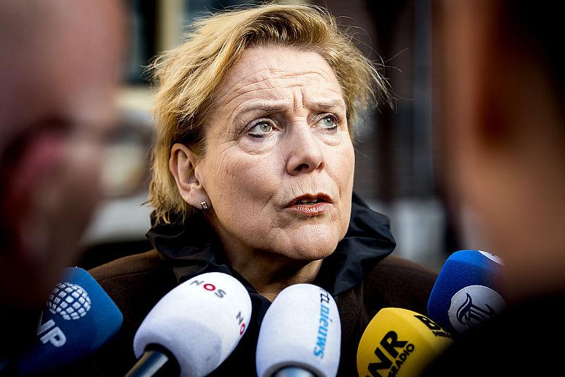 Minister Ank Bijleveld: 'Kazerne Vlissingen nog geen 'point of no return''