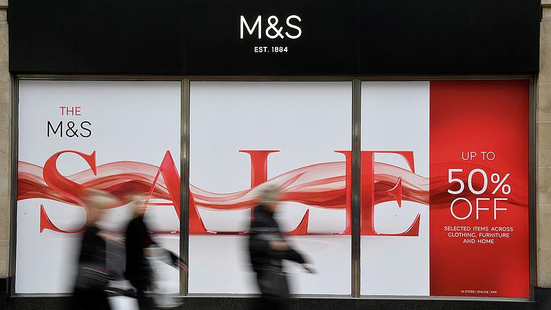 Uitverkoop M&S mode