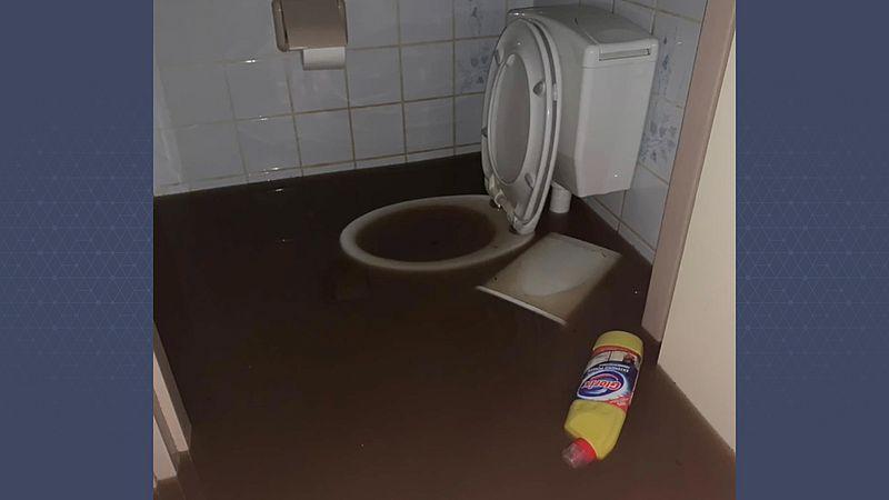 De wc in het huis van Ellie en Rycel