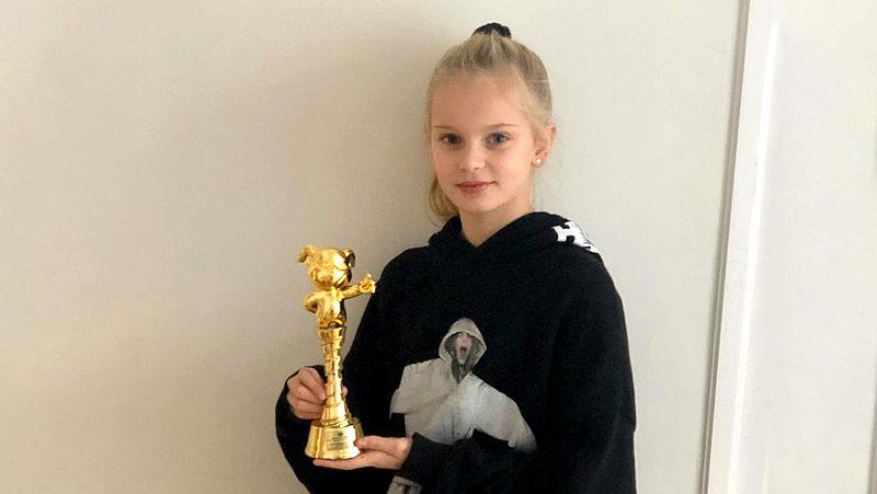 Nederlandse Vita (11) wint prijs voor beste actrice in China