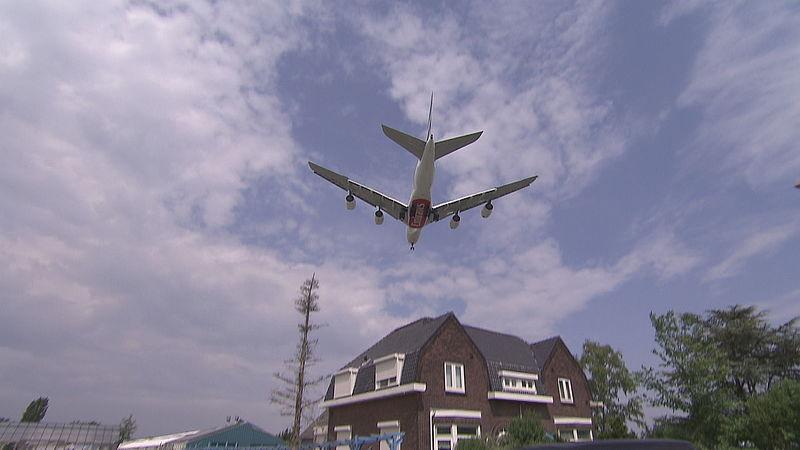 Vliegtuiglawaai Eijsden steeds erger