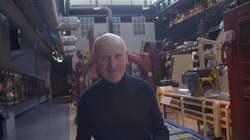 Directeur Jan Hovers van het Zaans Museum