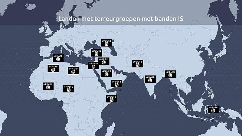kaart IS-groepen