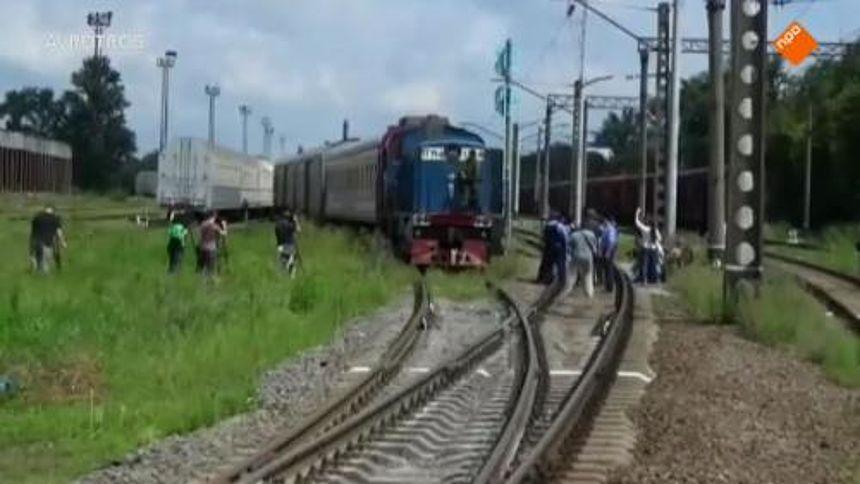 Trein Met Lichamen Slachtoffers Ramp Mh17 In Charkov Eenvandaag