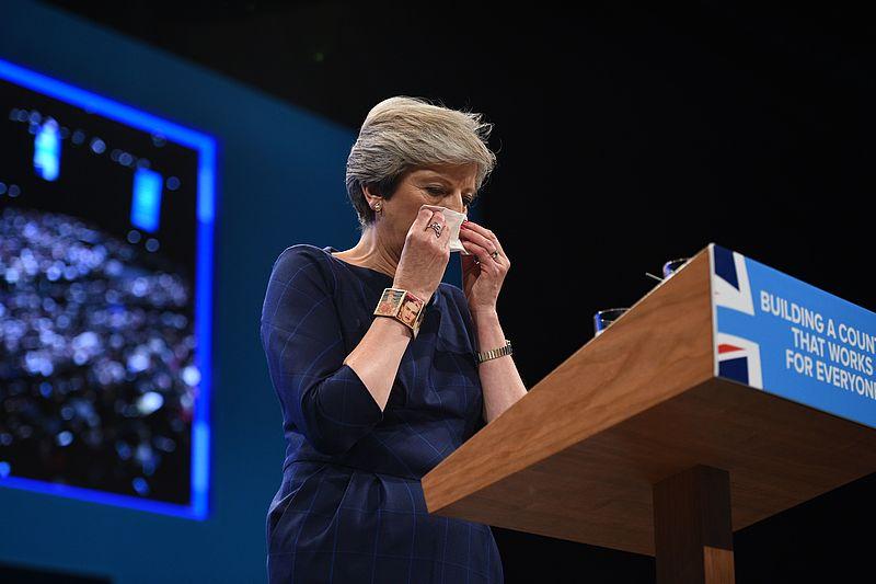 Column Kees Boonman: Gênante vertoning Theresa May