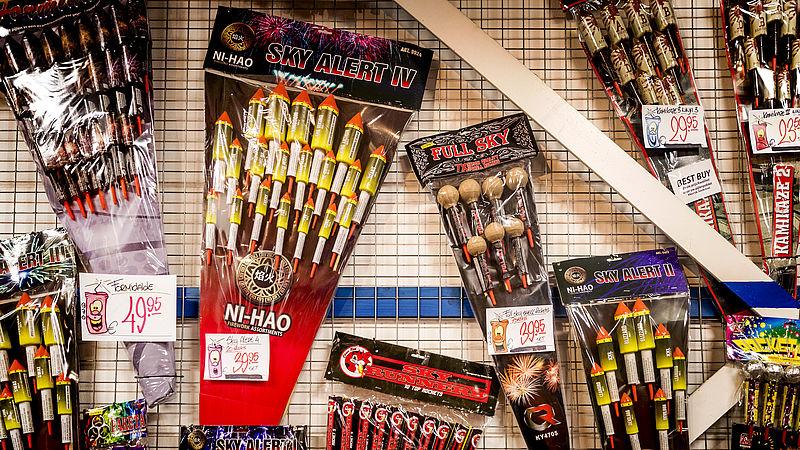 Helft voor landelijk vuurwerkverbod met Oud en Nieuw