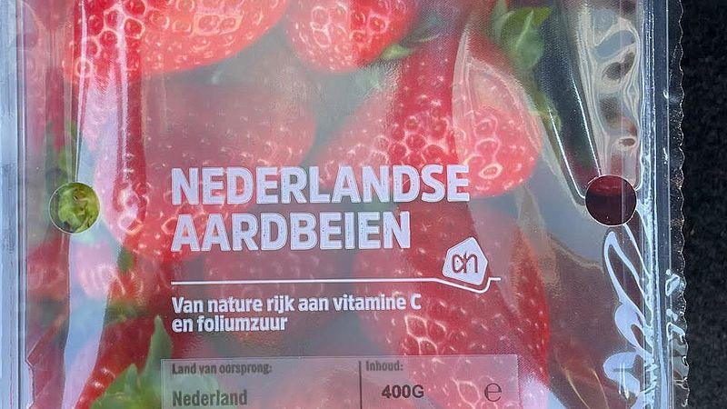 Aardbeien van de Albert Heijn