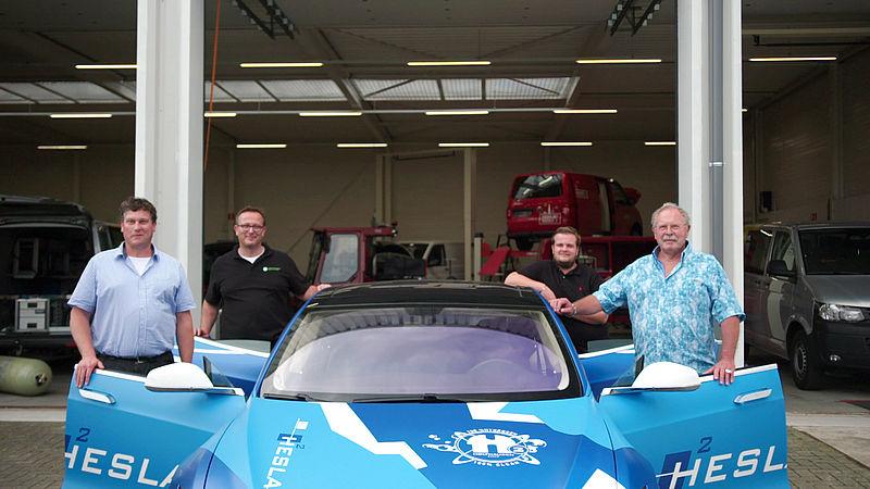 Familiebedrijf Holthausen gelooft dat waterstof de toekomst heeft