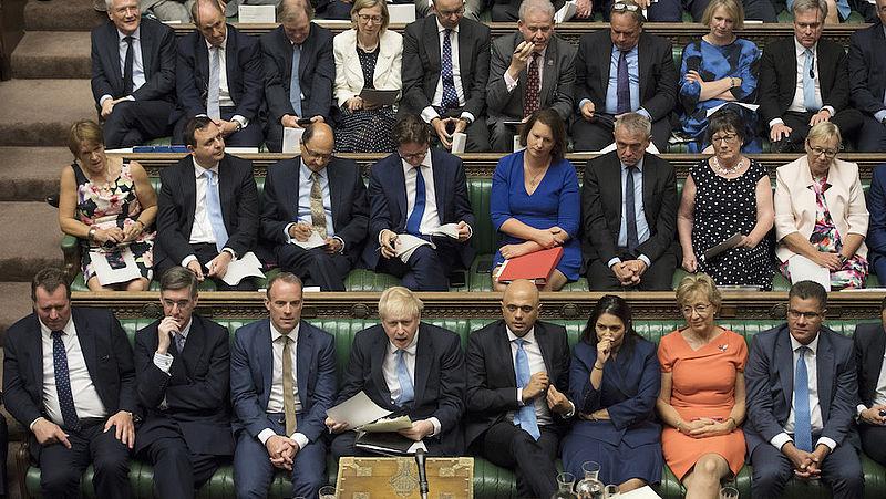 Brits parlement kan no deal-brexit bijna niet meer voorkomen, zegt deze denktank