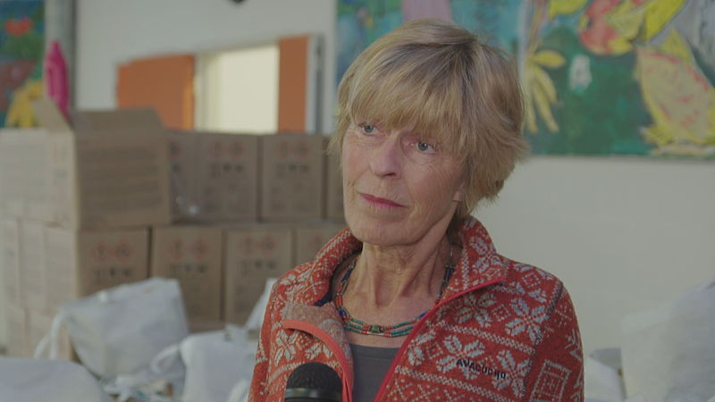 Riemke Leusink, voorzitter van voedselbank Amersfoort