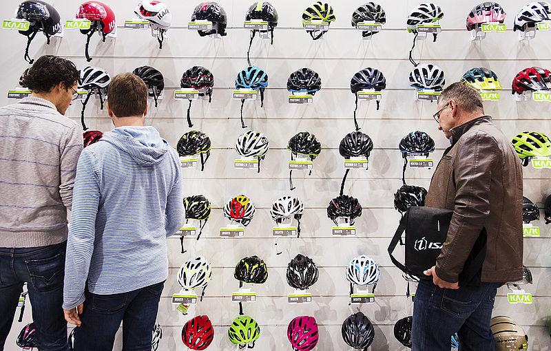 'Een verplichte helm zorgt voor minder fietsers'